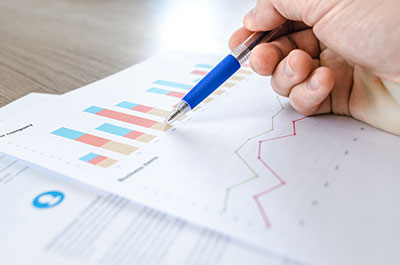 CPA firm reviews financial statements